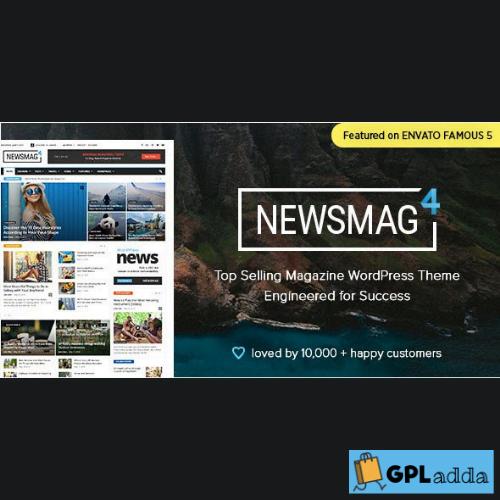 Newsmag 5 – News Magazine Newspaper Wordpress Theme