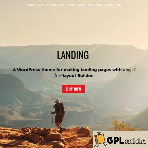 Themify – Landing Premium WordPress Theme