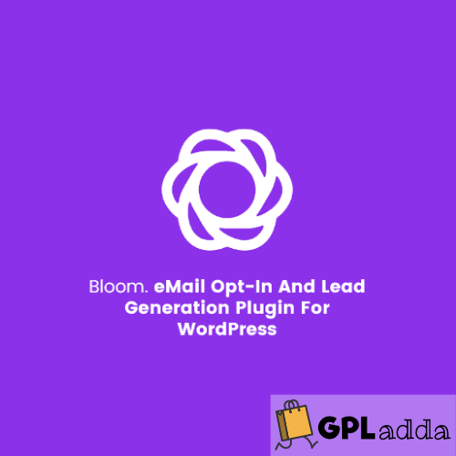Bloom - Email Opt-In And Lead Generation Plugin