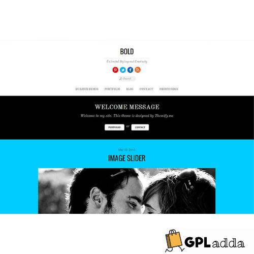 Themify – Bold Premium WordPress Theme