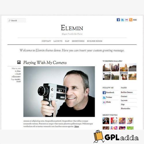Themify – Elemin Premium WordPress Theme