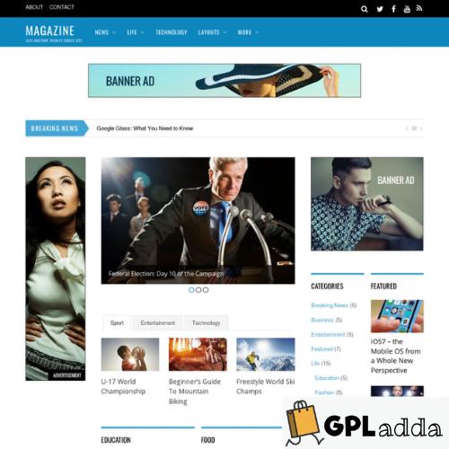 Themify – Magazine Premium WordPress Theme