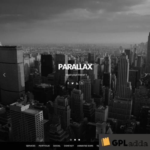 Themify – Parallax Premium WordPress Theme