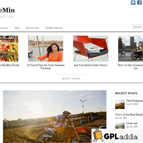 Themify – Thememin Premium WordPress Theme