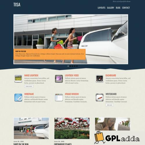 Themify – Tisa Premium WordPress Theme