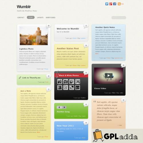 Themify – Wumblr Premium WordPress Theme