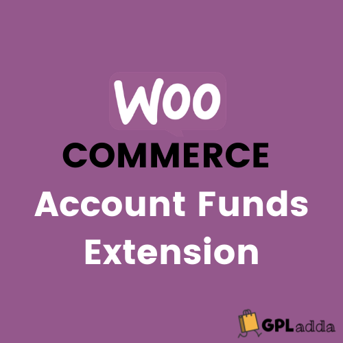 WooCommerce – Account Funds WooCommerce Extension