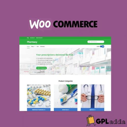 WooCommerce – Pharmacy Storefront WordPress Theme
