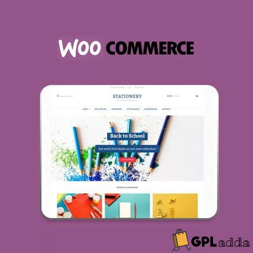 WooCommerce – Stationery Storefront