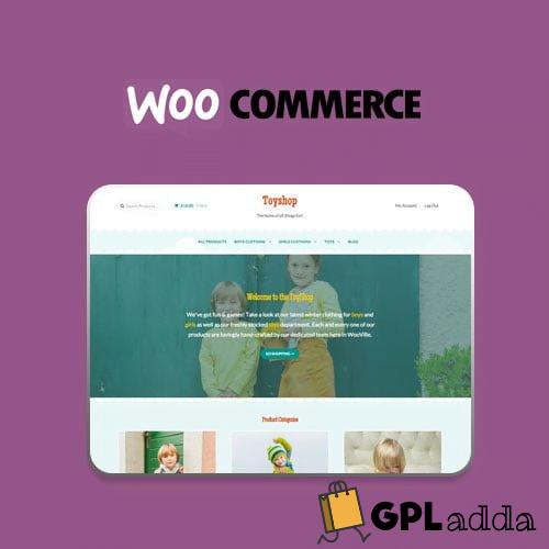 WooCommerce – Toyshop Storefront Wordpress Theme