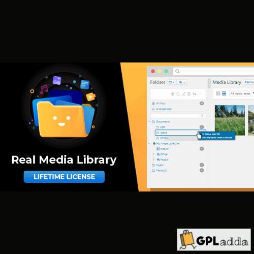WordPress Real Media Library - Media Categories Folders File Manager Plugin