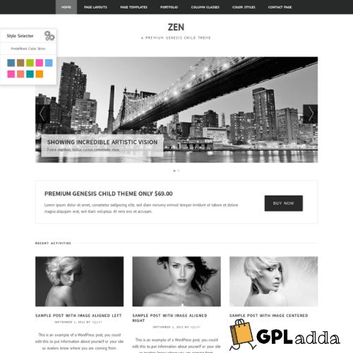 ZigzagPress – Zen Genesis WordPress Theme