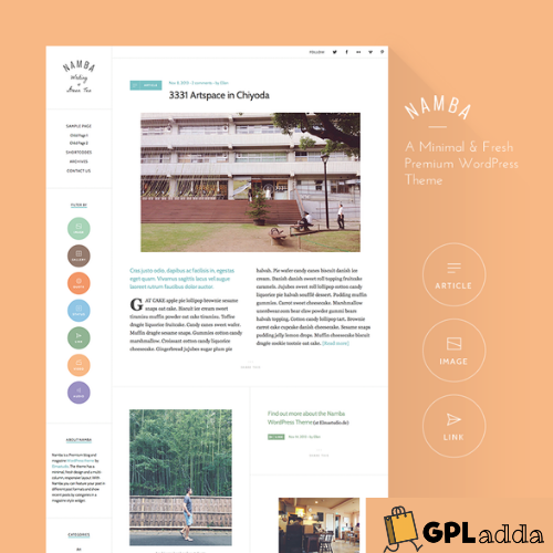 Elmastudio – Namba Premium WordPress Theme