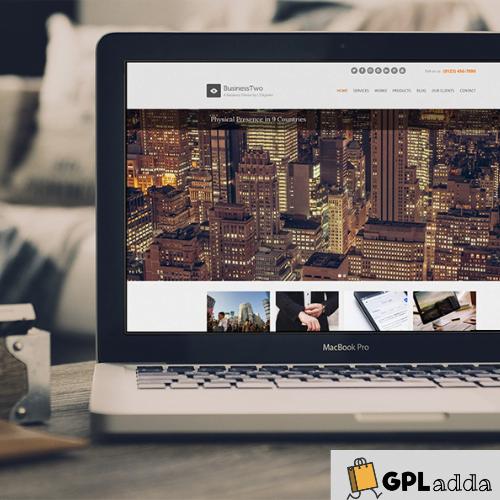 CSSIgniter – BusinessTwo WordPress Theme