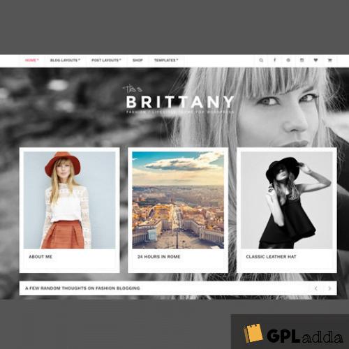 CSSIgniter – Brittany WordPress Theme