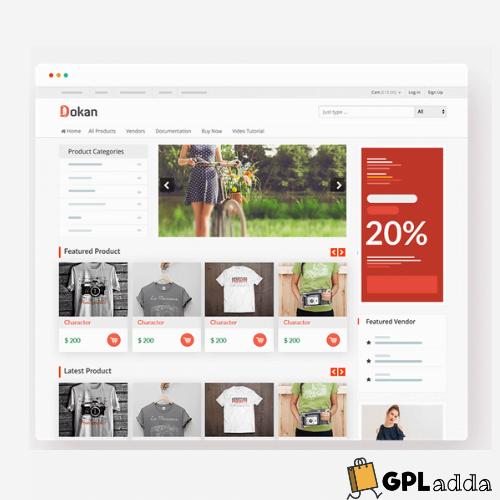 weDevs – Dokan eCommerce WordPress Themes