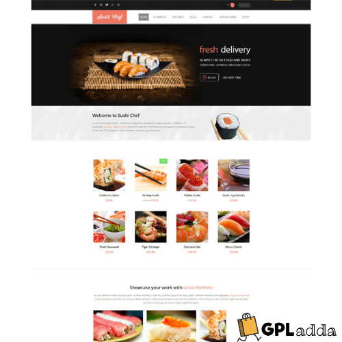 AitThemes – Sushi WordPress Theme