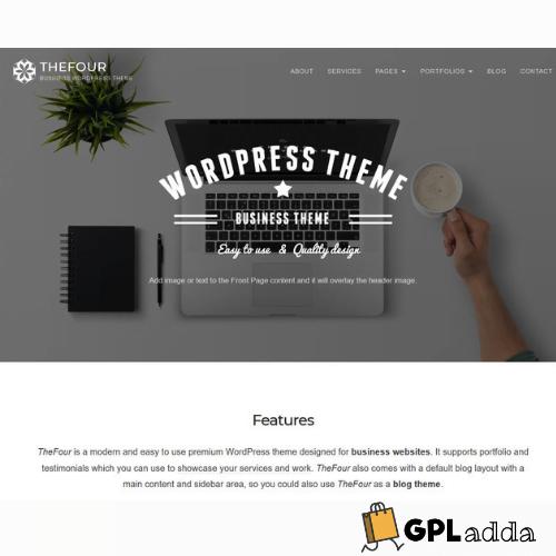 GretaThemes – TheFour WordPress Theme
