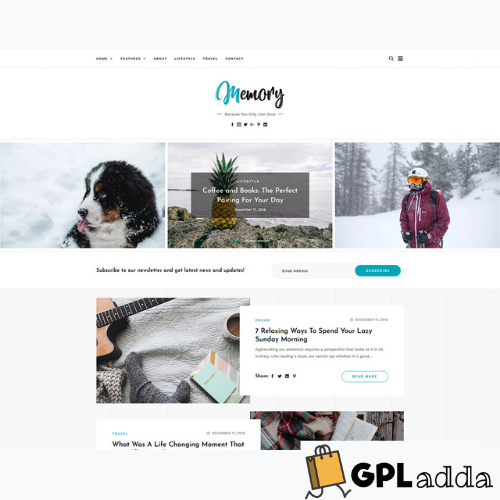 GretaThemes – Memory WordPress Theme