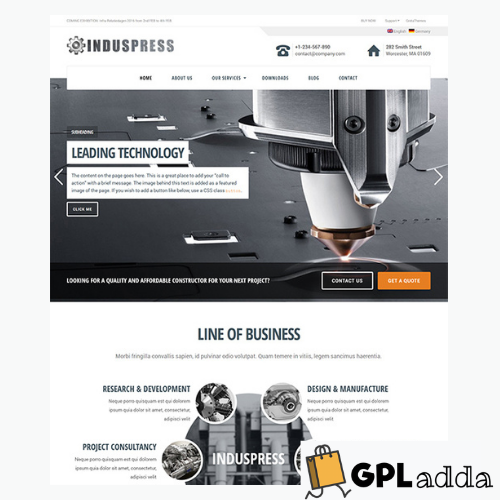 GretaThemes – IndusPress WordPress Theme