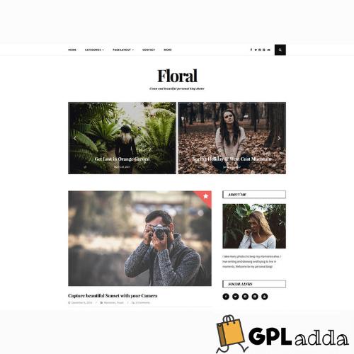 GretaThemes – Floral WordPress Theme