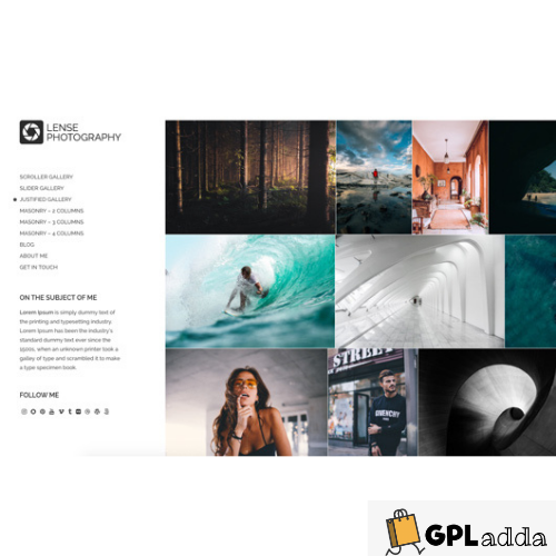 CSSIgniter – Lense WordPress Theme