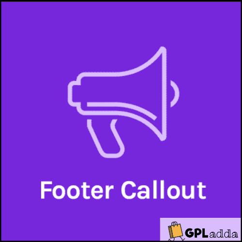 OceanWP – Ocean Footer Callout WordPress Plugin