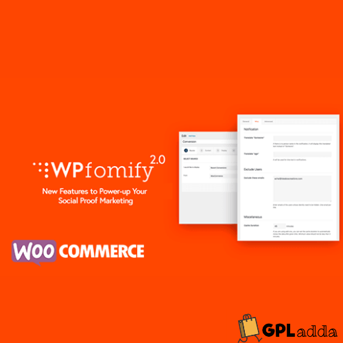 WPfomify – WooCommerce Add-on WordPress Plugin