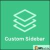 OceanWP – Ocean Custom Sidebar WordPress Plugin