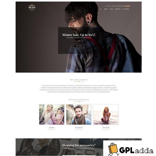 CSSIgniter – Hugo WordPress Theme