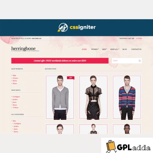 CSSIgniter – Herringbone WordPress Theme