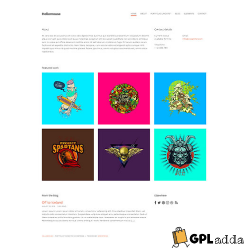 CSSIgniter – Hellomouse WordPress Theme