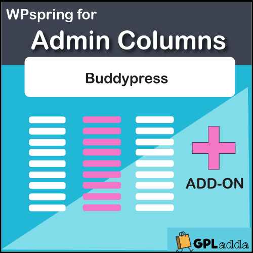Admin Columns Pro BuddyPress Integration WordPress Plugin