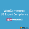 WooCommerce – US Export Compliance WooCommerce Extension