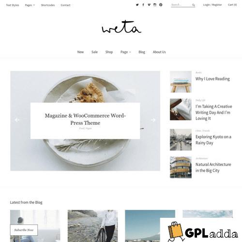 Elmastudio – Weta Premium WordPress Theme