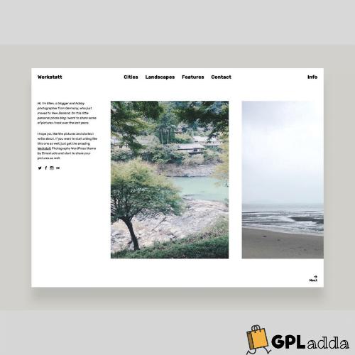 Elmastudio – Werkstatt Premium WordPress Theme