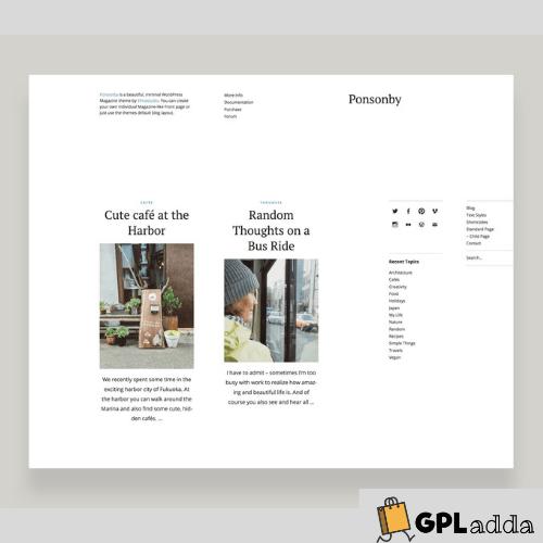 Elmastudio – Ponsonby Premium WordPress Theme