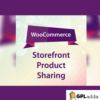 WooCommerce – Storefront Product Sharing WooCommerce Extension