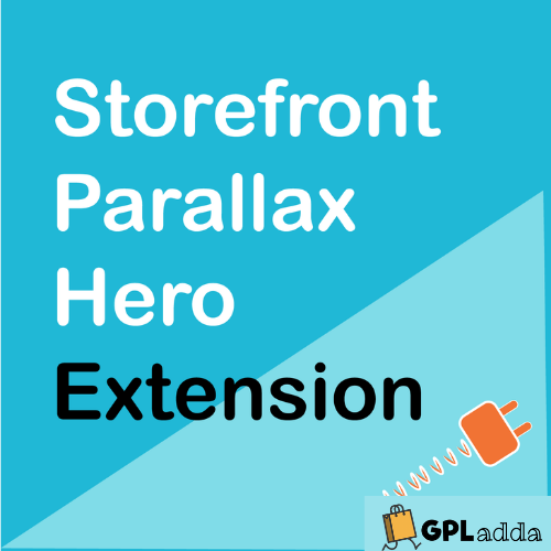 WooCommerce – Storefront Parallax Hero WooCommerce Extension