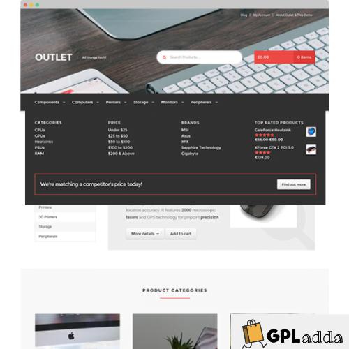 WooCommerce – Storefront Mega Menus WooCommerce Extension