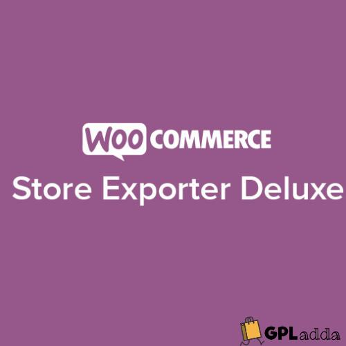 WooCommerce – Store Exporter Deluxe