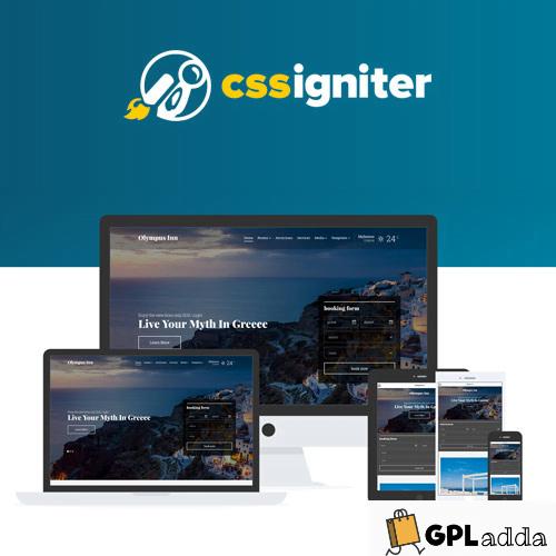 CSS Igniter – Olympus Inn Hotel WordPress Theme