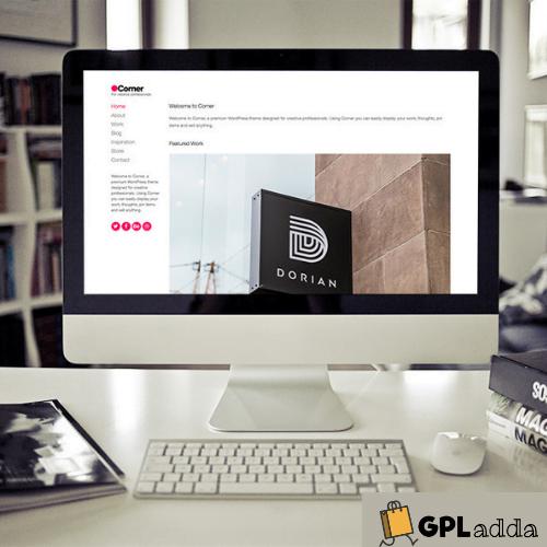 CSSIgniter – Corner WordPress Theme