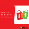 WooCommerce – Buy One Get One Free WooCommerce Extension