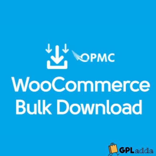 WooCommerce – Bulk Download WooCommerce Extension