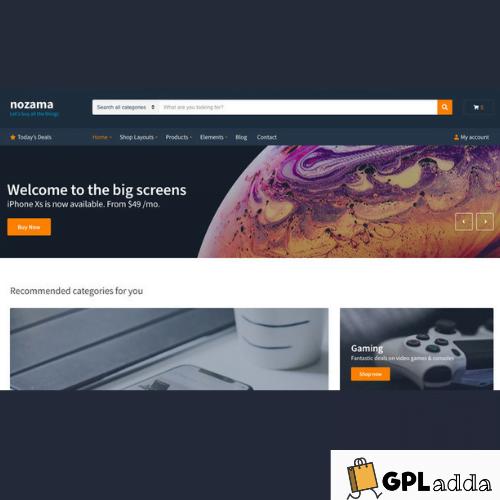 CSSIgniter – Nozama WordPress Theme