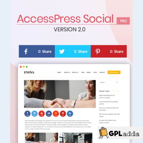 AccessPress Social Pro WordPress Plugin
