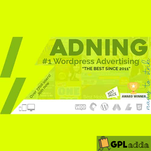 Adning Advertising - All In One Ad Manager for WordPress