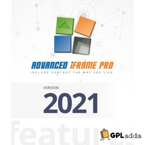 Advanced iFrame Pro - WordPress Plugin
