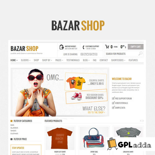 Bazar Shop - Multi-Purpose e-Commerce Theme